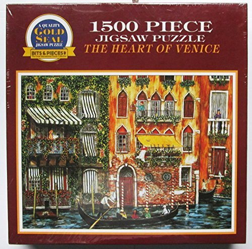 The Heart of Venice 1500 Piece Jigsaw Puzzle by GOLD SEAL