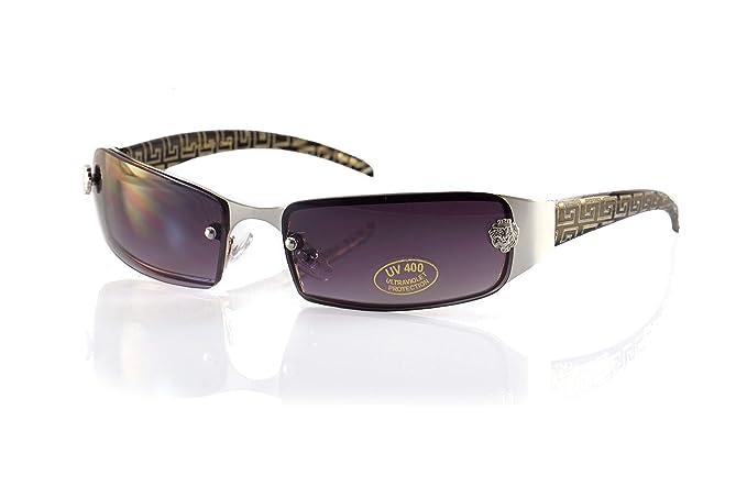 Amazon.com: Gafas de sol de brazo con diseño de lentes sin ...