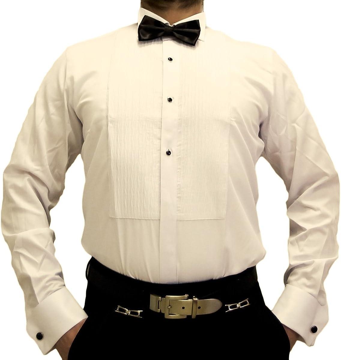 Farrabi - Camisa Formal - Básico - Cuello ala - Manga Larga ...