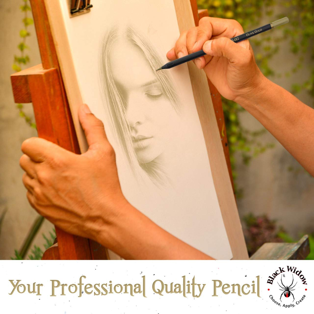 Dark Skin Tone Color Pencils for Portrait Set - Colored Pencils for Adults and Skintone Artist Pencils by Medihealth 1 (Image #3)