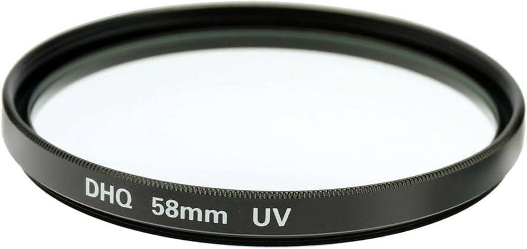 Fujiyama 58mm UV Filter for Panasonic Lumix G Vario 12-60mm F3.5-5.6 ASPH Power OIS Black Made in Japan