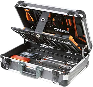 Beta Tools Easy Caja de herramientas 146 piezas aluminio 2056E/E 020560311: Amazon.es: Bricolaje y herramientas