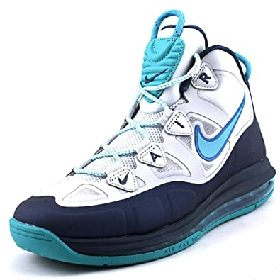 Nike Air Max Uptempo Fuse 360 Men US 7.5 Blue Basketball Shoe UK 6.5