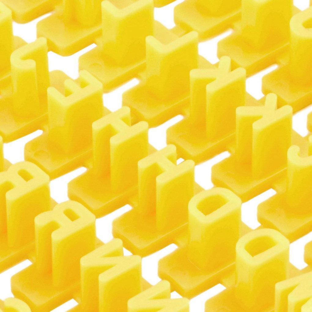 Sunlera Número de alfabeto Fondant Cake Biscuit Stamp Embosser Mold: Amazon.es: Hogar