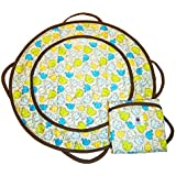 Patemm Round Baby Diaper Changing Pad ~ Elephant Toss Model: (Newborn, Child, Infant)