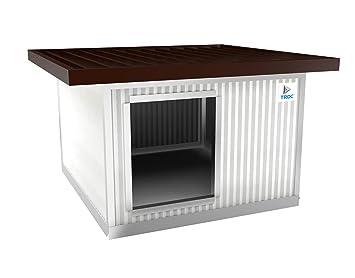 TRDC Caseta Aislante para Perro Maxi con Techo Aumentado para el Exterior (Artic 40 mm