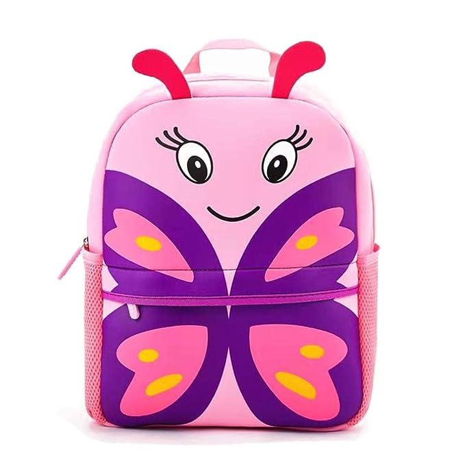 Amazon.com: Mochila para niños, impermeable, preescolar, con ...