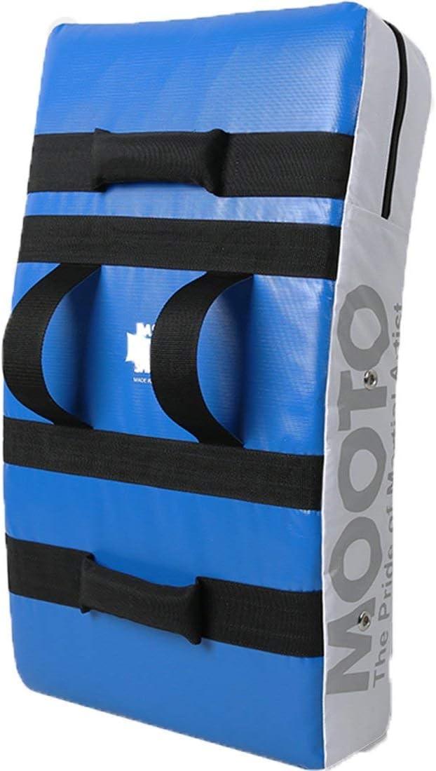 テコンドーMooto基本的な電源シールドブルー+ホワイトKickingターゲット
