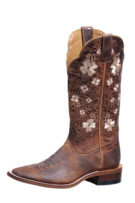 Rugged Country Western Boots Women Stockman 7 5 1C