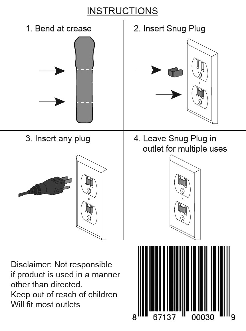 Outlet Snug Plug Loose Your Cost To Fix Electrical 8 Pack