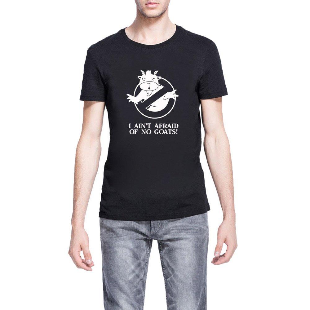 Loo Show S I Ain S Afraid Of No Goats Funny Casual T Shirts Tee
