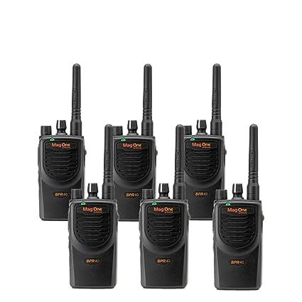 Amazon com: 6 MagOne BPR40 By Motorola - UHF 4 Watt 8
