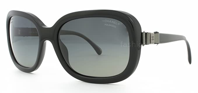 Gafas de Sol Chanel CH5280Q BLACK-POLAR GREY GRADIENT ...