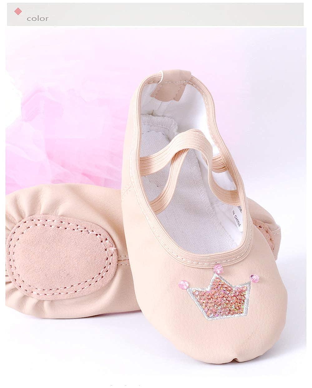 Apricot-EU 23//6 M US Toddler YSNJL Toddlers Lucky Ballet Flat