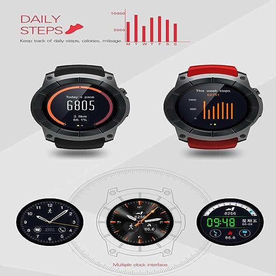 BGSY GPS Tarjeta Sim gsm Reloj Deportivo Monitor De ...