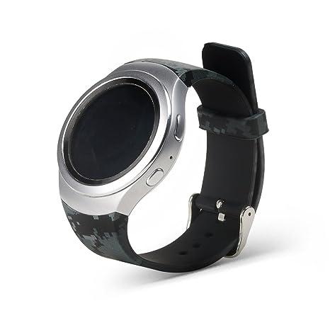 Gosuper Pulsera de silicona suave correa banda Smartwatch ...