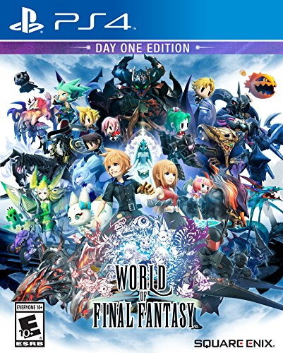 (World of Final Fantasy - PlayStation 4)