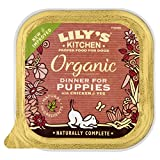 Lily's Kitchen Organic Dinner for Puppies Complete Wet Food for Dogs 150g (Pack of 11)