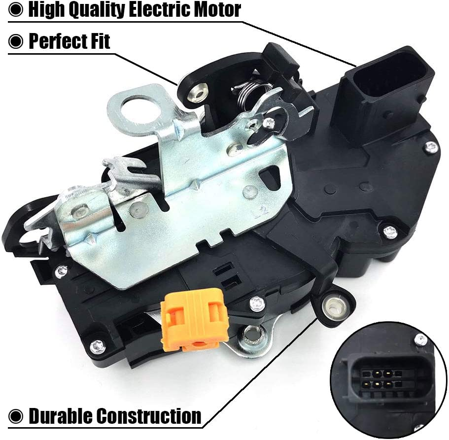 FEXON Door Latch Lock Actuator Motor Front Left Driver Side for 2007 2008 2009 GMC Sierra Yukon Chevy Tahoe Avalanche Silverado Suburban Cadillac Escalade 15880052 207838846 25789211 931-303
