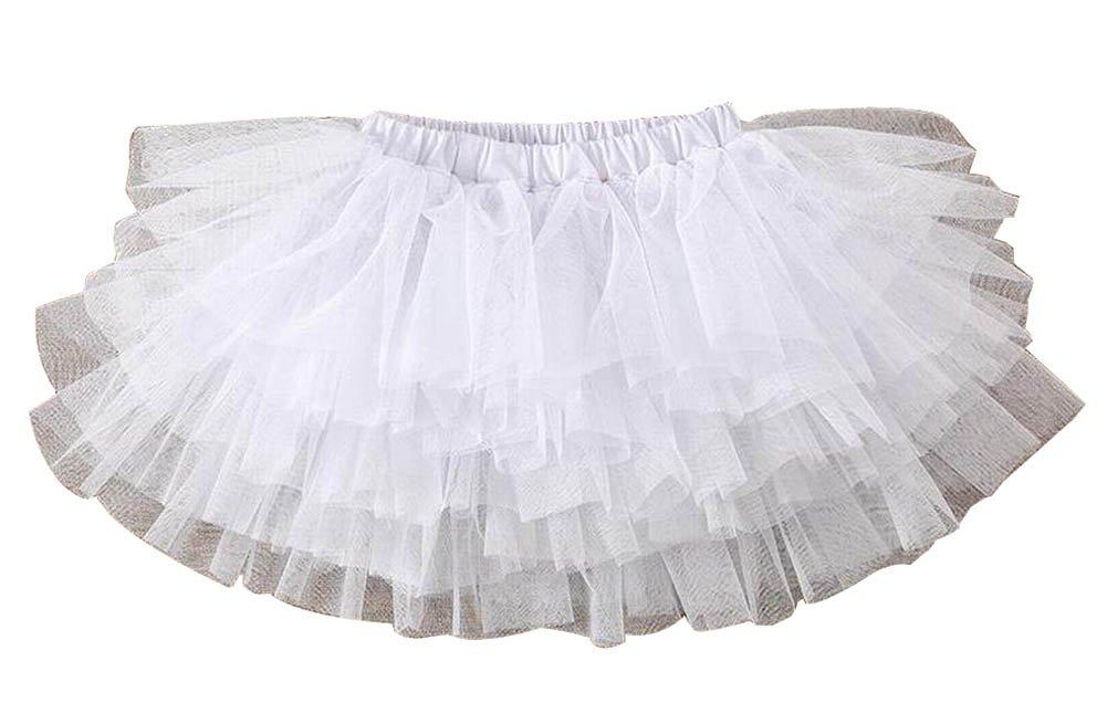 f0237a4b8 [White-3] Girls Tutu Skirt Tulle Princess Skirt Children Dress-up Fluffy  Skirt, Spray Skirts - Amazon Canada