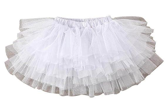 Alien Storehouse [Blanco-3] Falda de Tutú para Niña Falda de ...
