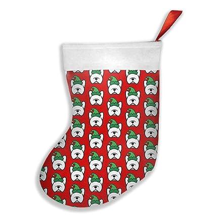 new french bulldog elf christmas xmas christmas stockings xmas party mantel decorations ornaments for decoration kids - Elf Christmas Party Decorations