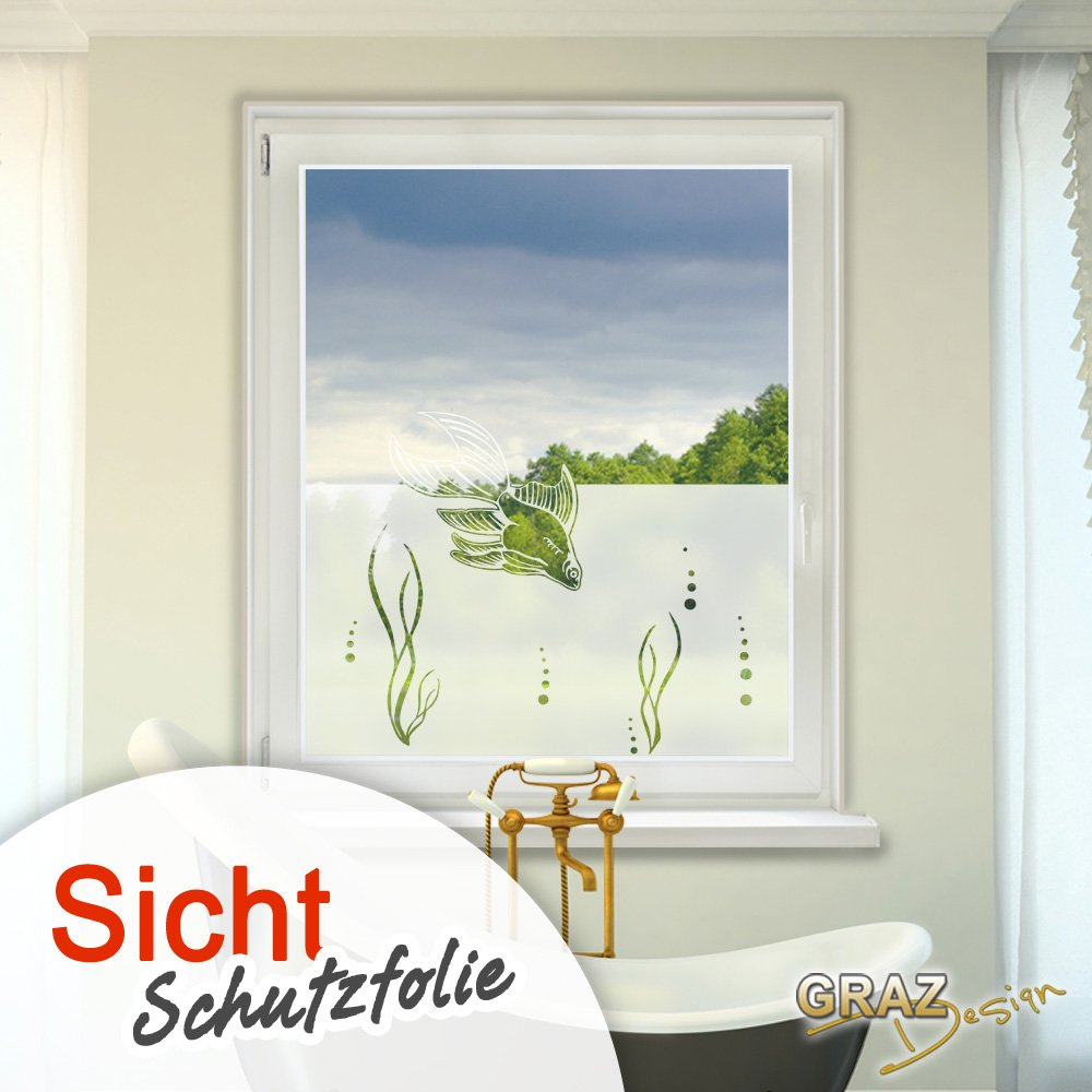 Amazon.de: Graz Design 980086_80x57 Fensterdekor Milchglasfolie ...