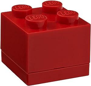 Room Copenhagen LEGO Mini Box, Brick 4, Bright Red