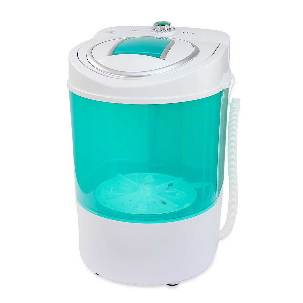 Electric small mini portable compact washer washing machine 110v 9lb capacity ebay - Small space washing machines set ...