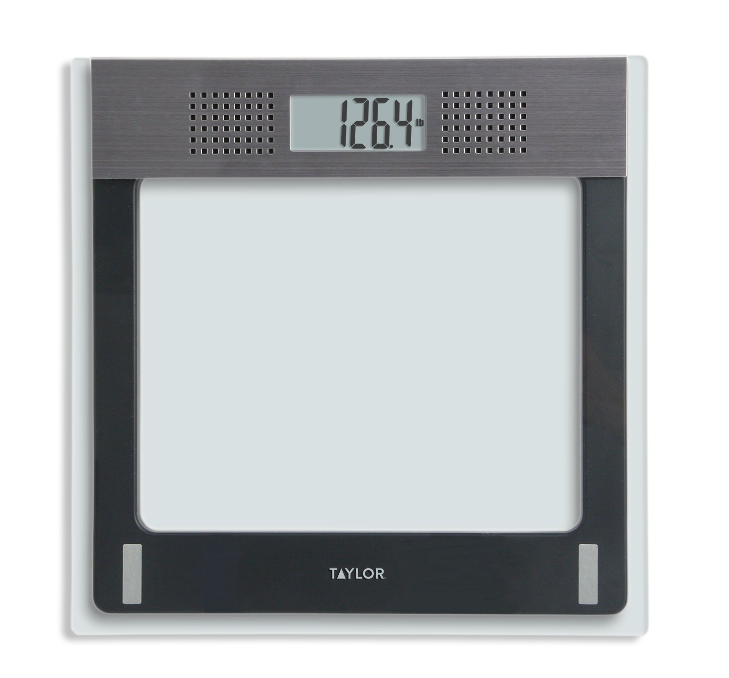 Taylor Electronic Glass Talking Bathroom Scale, 440 Lb. Capacity by taylor
