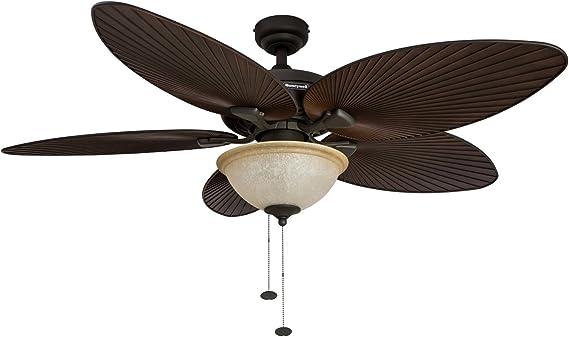 Honeywell Palm Tropical isla – Ventilador de techo con puesta de ...