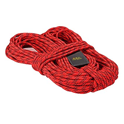 Hiking And Mountaineering Alomejor Safety Rope 20m Rock Climbing Survival Escape Rope High Strength Cord Safety Rope For Fire Rescue