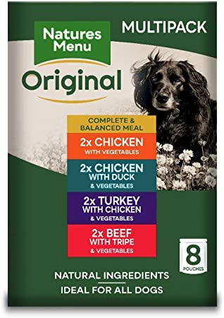 Imagen deNatures Menu Dog Food Pouch Multipack (8 x 300g)
