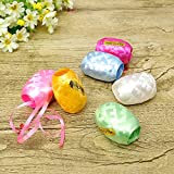 Party Propz Ribbon for Balloons/ Gift Wrapping / Crafts Decoration (Multicolour) - Set of 6