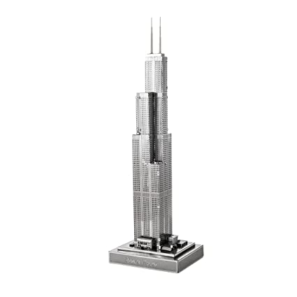 amazon com fascinations iconx sears tower toys games