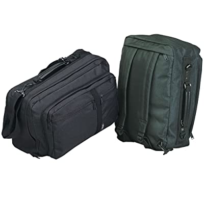 durable modeling Convertible 3-way Brief/backpack/carry on