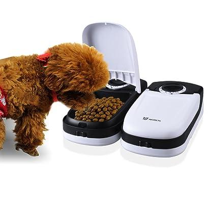 WOPETS automático Forro Automat/forro dispensador con temporizador para gatos y perros pequeños, 2