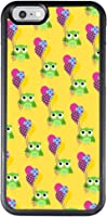 iPhone 6 6s regular 4.7 inch Case with Owl Pattern,Amusing Whimsical Design Bumper Case,Black Thin TPU and PC Protection...