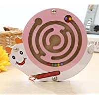 Craft Expertise Labyrinth, Ball-in-A-Maze Puzzles Magnetic Pen Driving Jigsaws Puzzle Board Game Educational Toy