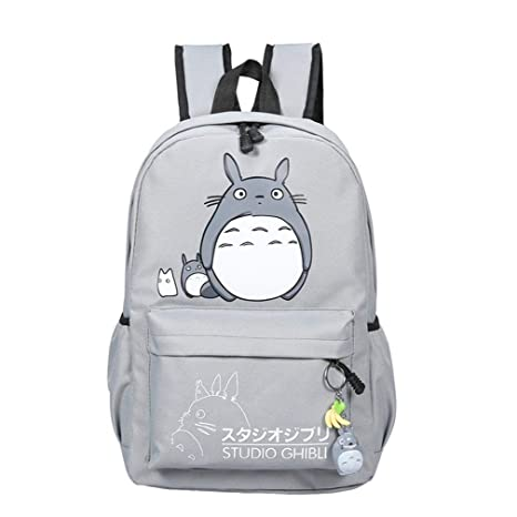 Thedmhom 1 Pcs New Cute Animal Classic Cartoon Anime Cat Totoro Canvas  Backpack Stationery Pouch Fashion 31724bdd68