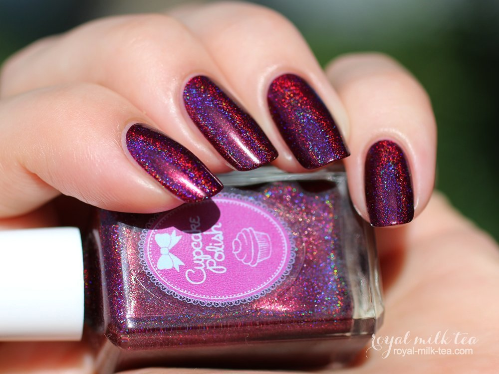 Blood Hound - holographic nail polish by Cupcake Polish