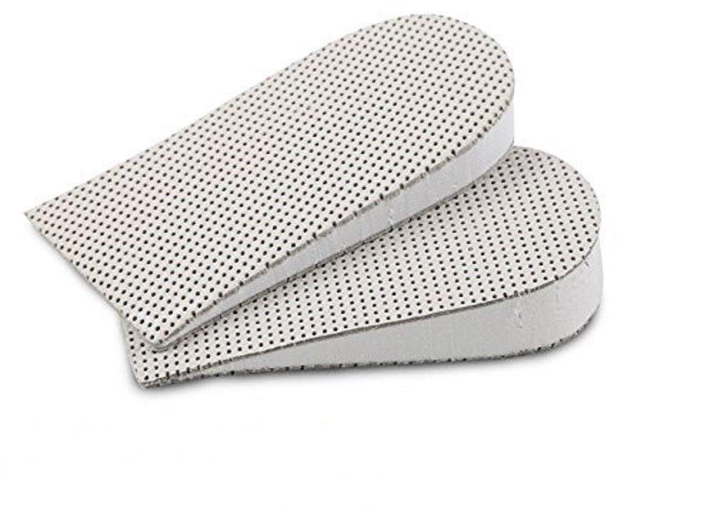 HappyStep® Solette aumento altezza invisibile Memory Foam, Solette Elevamento Altezza, Sollevamento Tallone - Unisex, leggeri e durevoli (altezze: 3,3 centimetri)