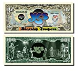 Yes (Starship Troopers) Novelty Million Dollar Bill - 25 Count with Bonus Clear Protector & Christopher Columbus Bill