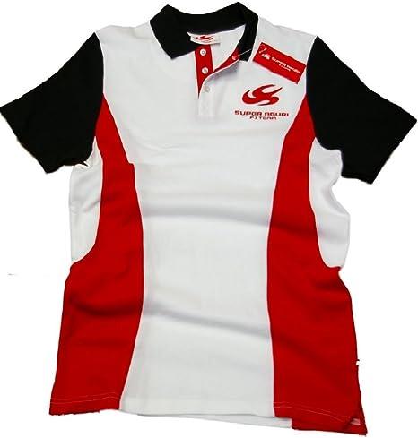 Super Aguri Polo Camisa: fórmula uno 1 F1 Blanco, Hombre, Blanco: Amazon.es: Deportes y aire libre