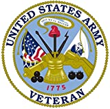 1 Pc Sumptuous Fashionable United States Army Veteran Sticker Sign Window Outdoor Vinyl Size 3.5