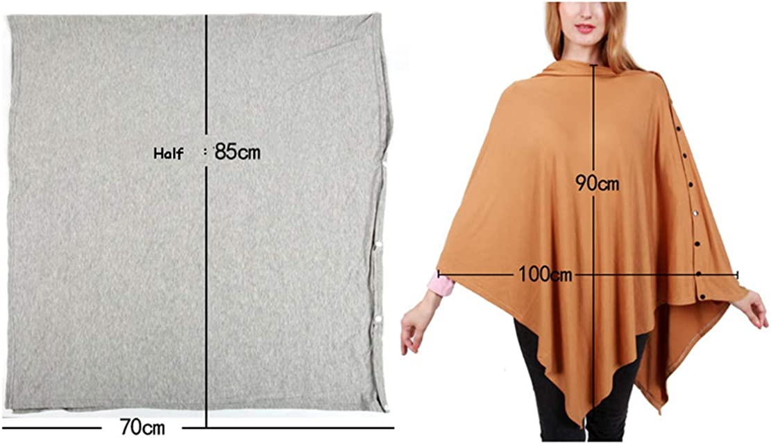 Nursing Covers Breastfeeding Scarf Protection,Womens Shawls and Wraps,Multi-Use Poncho for Baby Car Seat Canopy Maternity Tops Newborn Swaddle Blanket