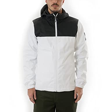 c95d4317f0 North Face Mountain Q Jacket Small TNF White TNF Black  Amazon.co.uk   Clothing