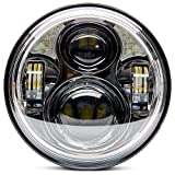883 sportster driving lights - Harley Davidson Motorcycle 5-3/4 5.75 LED Headlight 883,sportster,triple,low rider, wide glide Headlamp Projector Driving Light