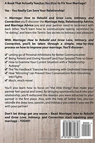 Marriage: How to Rebuild and Grow Love, Intimacy, and