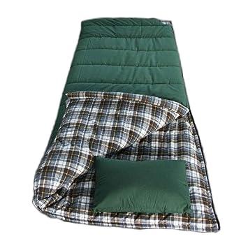 Saco de Dormir para Acampar Al Aire Libre Algodón de Invierno 3 kg de Franela Gruesa